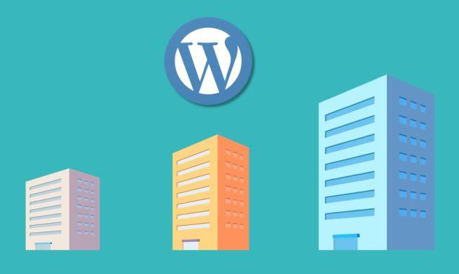 WordPressの企業使用